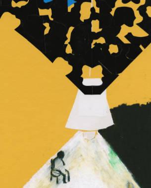Warten, Wald und Walser – Illustrationen von Meike Andresen